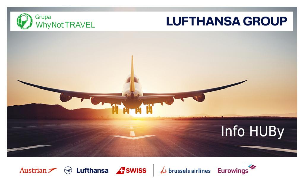 Lufthansa Group przygotowały Info HUBy