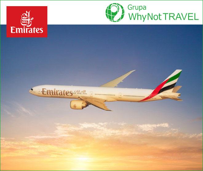 Emirates: Leć do Dubaju za mniej