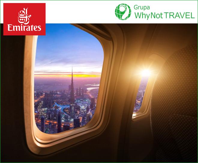 Emirates: bez testu na COVID-19 dla podróżujących zDubaju do Warszawy.