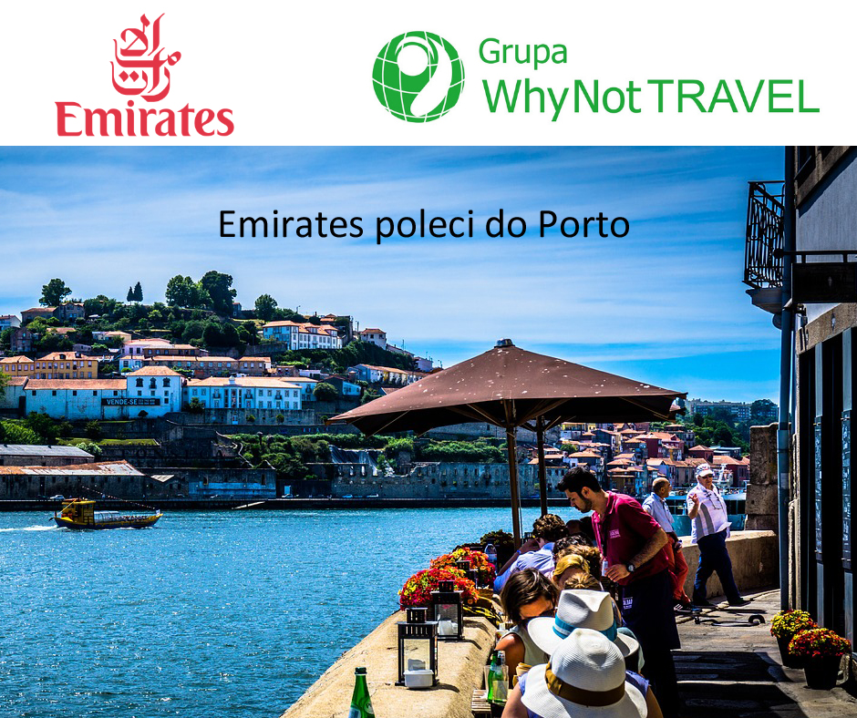 Emirates poleci do Porto