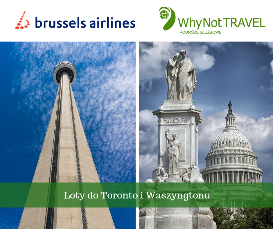 Brussels Airlines - loty do Toronto i Waszyngtonu