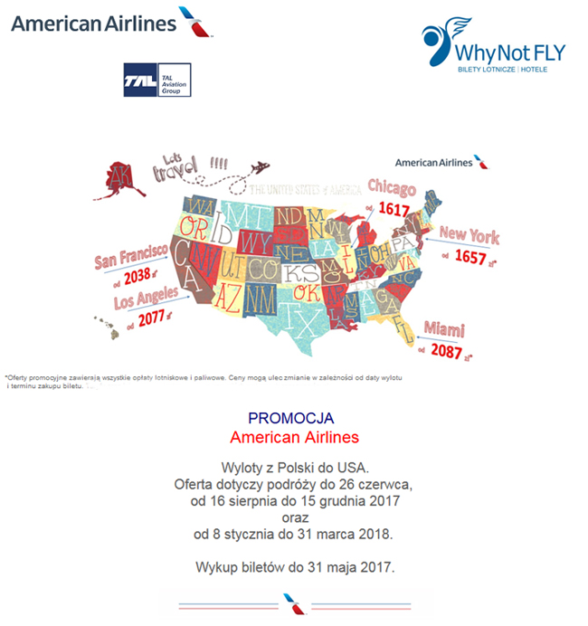 Nowa oferta American Airlines